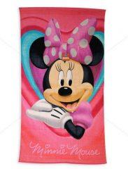 MINNIE MOUSE Disney gyerek törölköző - 70 cm x 130 cm