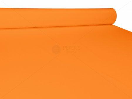 Narancssárga egyszínű vászon anyag
