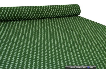 Kékfestő jellegű zöld anyag
